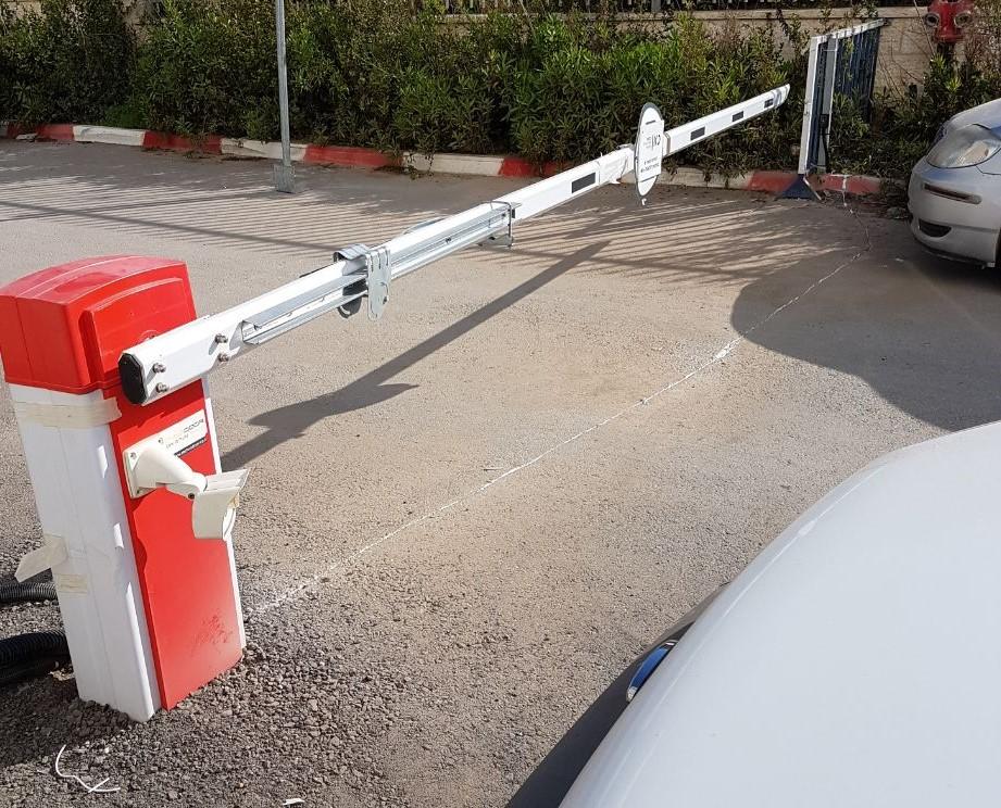 מגיק מחסום חשמלי עם מצלמת ALPR
